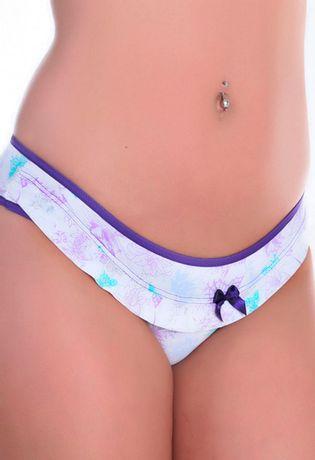 Calcinha-em-Microfibra-Estampada-com-Babado-de-Microfibra-A63-Compra-Facil-lingerie-Modelo
