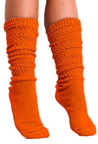 meia-aerobica-Compra-Facil-lingerie-Revenda-Foto-Modelo-Frente-Cor-Laranja