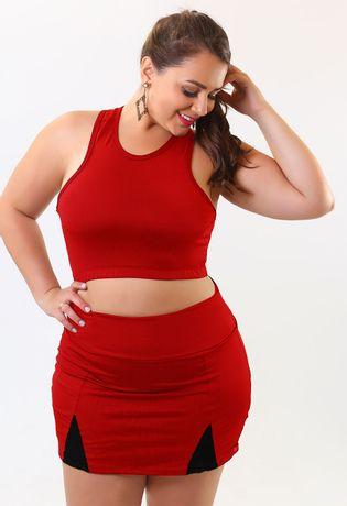 short-saia-tenista-plus-size-compra-facil-lingerie-revenda-Foto-Modelo-Frente