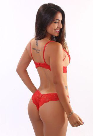 conjunto-de-lingerie-sexy-em-renda-e-tule-compra-facil-lingerie-Revenda-Foto-Modelo-Costas