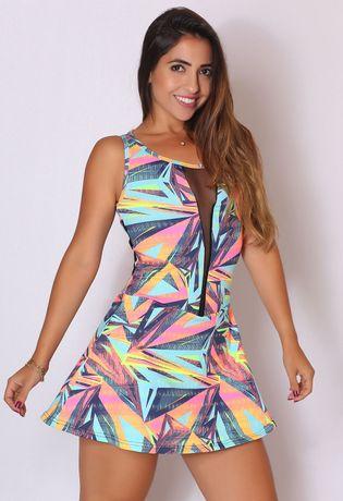 vestido-fitness-estampado-com-tela-compra-facil-lingerie-revenda-Foto-Modelo-Frente