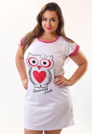 camisola-estampada-compra-facil-lingerie-revenda-Foto-Modelo-Frente