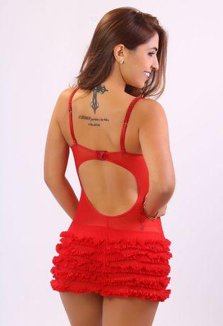 camisola-luxo-linha-noite-compra-facil-lingerie-revenda-Foto-Modelo-Costas