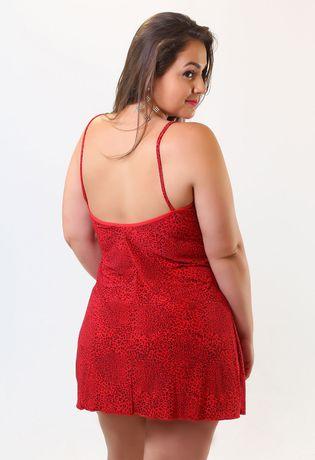 camisola-sexy-plus-size-em-liganete-estampada-e-renda-compra-facil-lingerie-Revenda-Foto-Modelo-costas