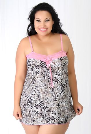 baby-doll-em-liganete-renda-plus-size-compra-facil-lingerie-Revenda-e-Atacado-Foto-MODELO-Frente