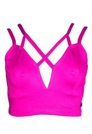 top-fitness-strappy-compra-facil-lingerie-revenda-e-Atacado-Foto-Modelo-Frente-Cor-ROSA-ESCURO