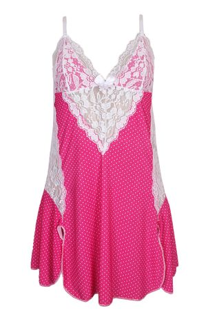 camisola-com-detalhe-em-renda-revenda-compra-facil-lingerie-ROSA-ESCURO-BRANCO
