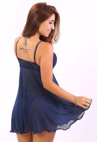 camisola-sexy-em-tule-compra-facil-lingerie-Revenda-Foto-Modelo-Costas
