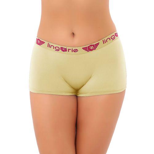 92aa0f1ec Calcinha Boxer Feminina em Microfibra A117 - Compra Fácil Lingerie