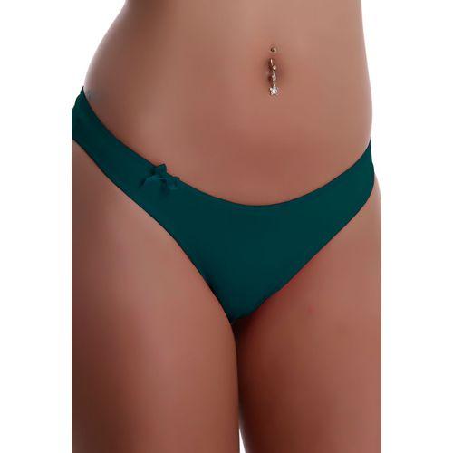 calcinha-fio-sexy-em-microfibra-lisa-com-detalhe-de-lacinho-Produto-C11-Compra-Facil-lingerie-Revenda-e-Atacado-Foto-Modelo-Frente-verde-escuro
