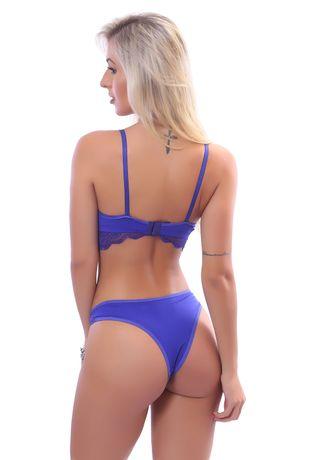 90ad4eeee Conjunto Lingerie Sexy em Renda e Microfibra D221 - Compra Fácil ...
