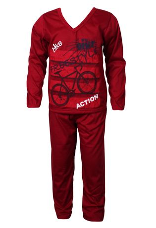 Pijama-Infantil-Masculino-Longo-Malha-N22