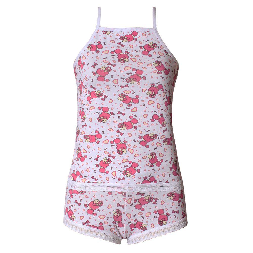 ead3eab14 Baby Doll Camisete Infantil em Algodão Cotton P92 - Compra Fácil ...