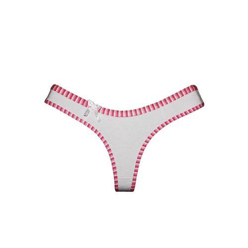 Tanga Sexy Fio Dental Cotton Algodão C195 - Compra Fácil Lingerie aa8a85d7486