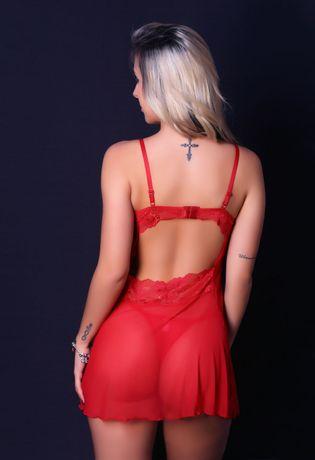 Camisola-Sexy-com-Bojo-em-Tule-e-Renda-J33