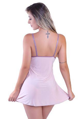 be119c8b4 Camisola Sexy em Liganete e Renda Francesa I37