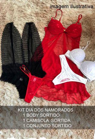 Kit-Lingerie-Dia-dos-Namorados-Conjunto-Body-Camisola-T77