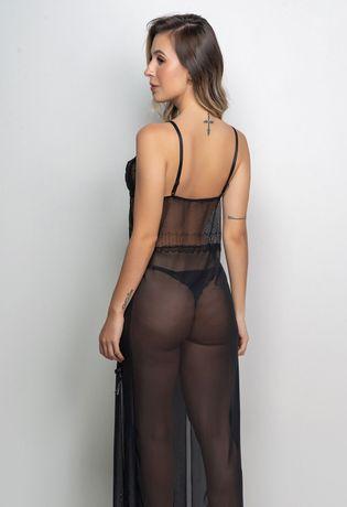 Camisola-Sexy-Longa-em-Tule-e-Renda-I10