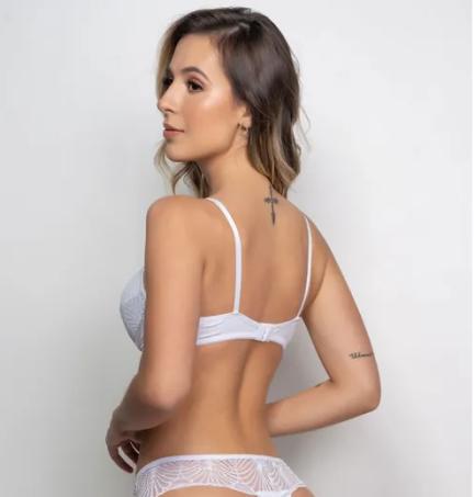 Banner - lingerie branca