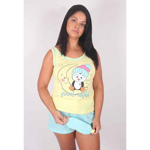 Pijama-Regata-Malha-Estampado-Tapa-Olho-G47