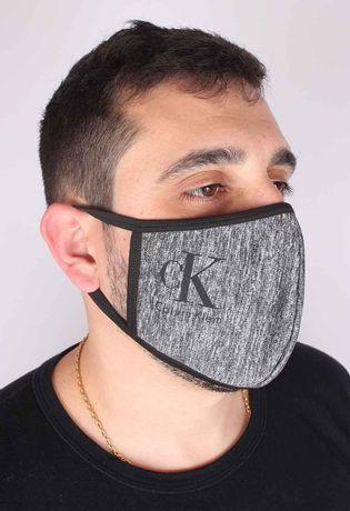 Kit-10-Mascara-Marcas-Variadas-Dupla-Tecido-T232