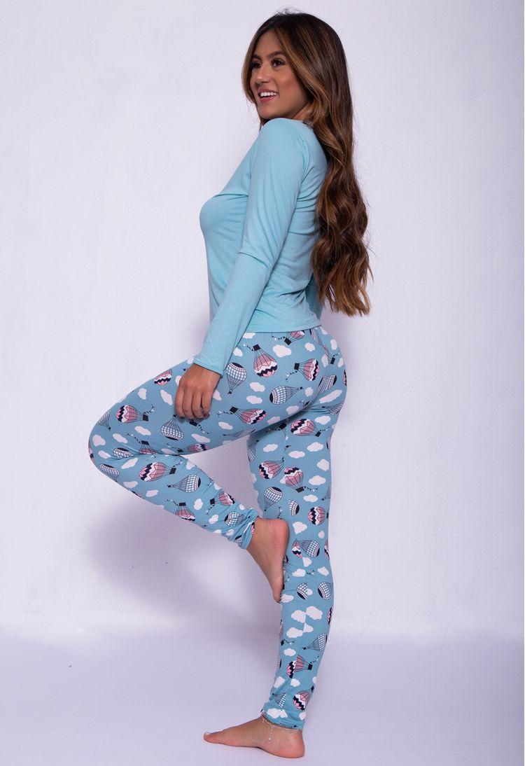 Pijama-Longo-Em-Camurca-Estampado-Verde-Claro-G08-3