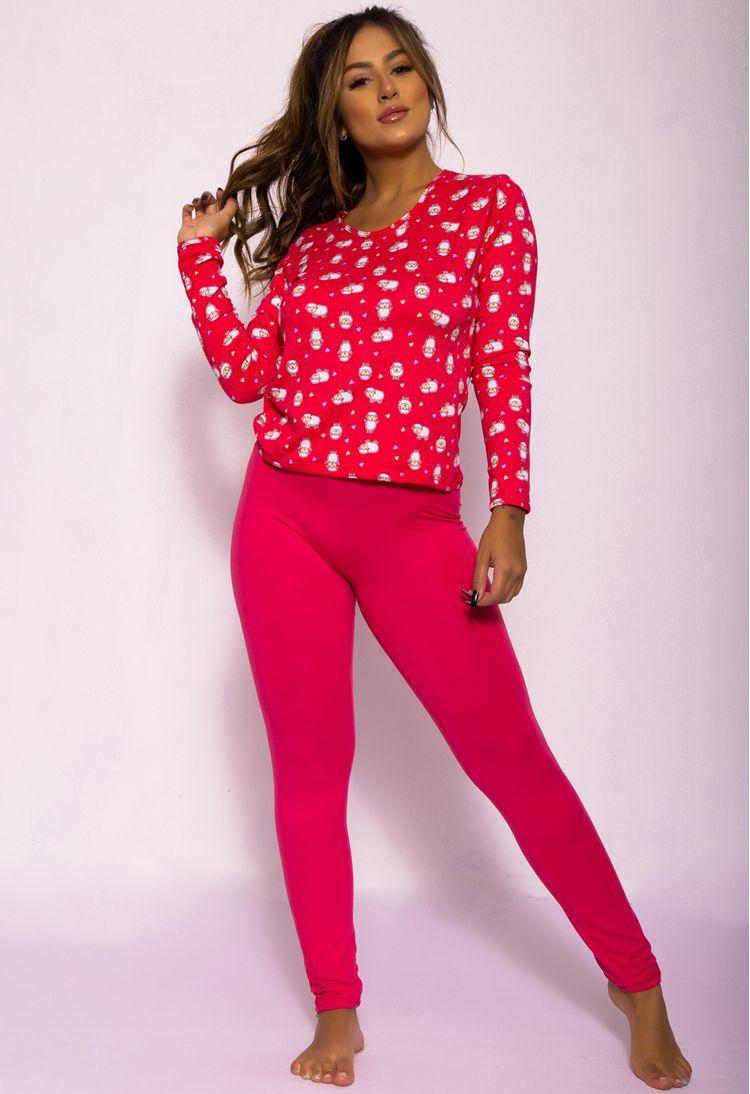 Pijama-Longo-Em-Camurca-Estampado-Rosa-Escuro-G08-15