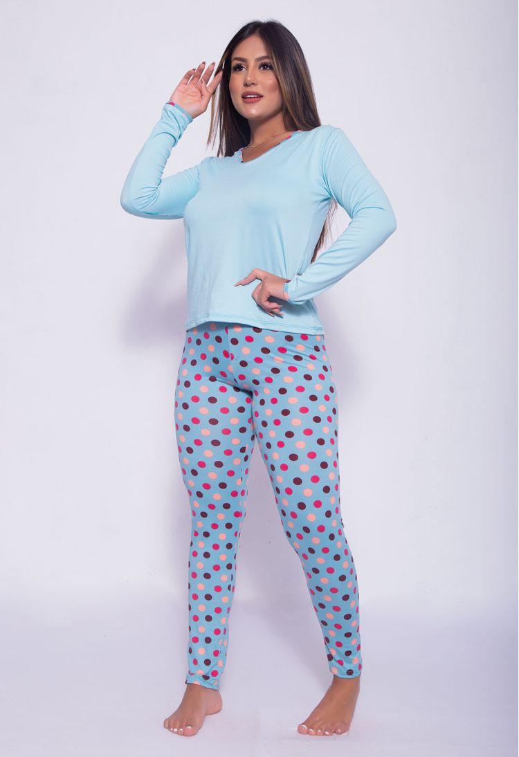 Pijama-Longo-Em-Camurca-Estampado-Verde-Claro-G08-45