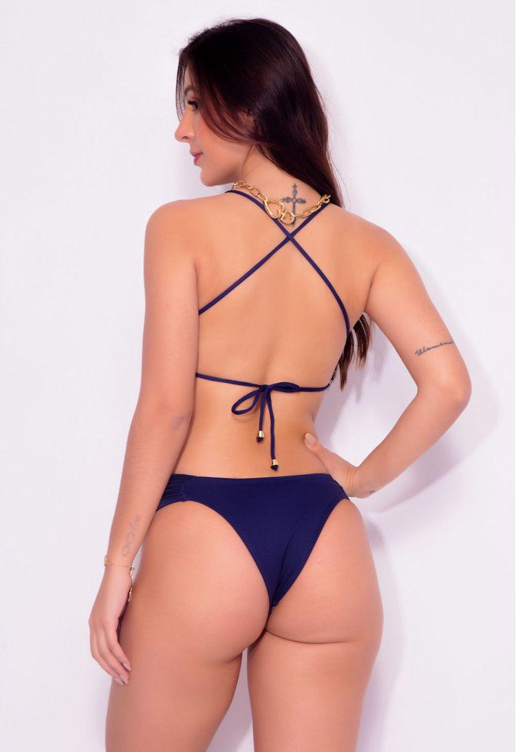 Biquini-Cropped-Estampa-Azul-Marinho-Flor--V72